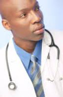 African American doctor 125