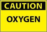 Oxygen Caution 150