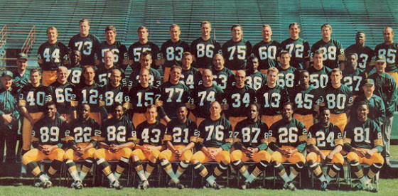 Green Bay Packers 1967 Team Photo