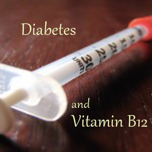 Illustration of Diabetes Syringe - Diabetes and Vitamin B12 Research