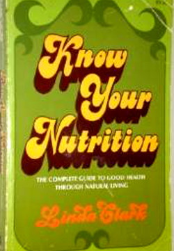 Know Your Nutrition by Linda Clark