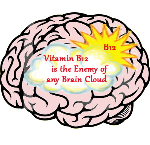 Vitamin B12 is the Enemy of Any Brain Cloud
