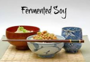 Vitamin B12 foods include Fermented Soy