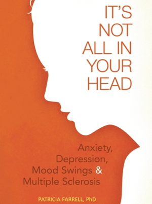 Book cover showing silhouette of head