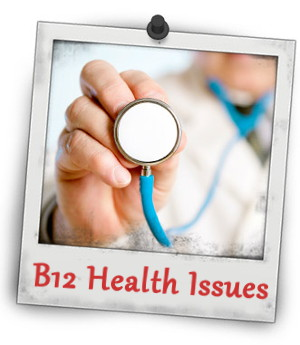Low Vitamin B12 health issues may relate to blood