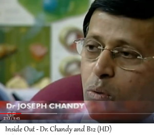 Dr. Chandy talks about healthy B12 levels