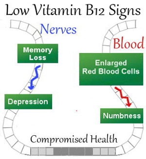 Low Vitamin B12 Signs