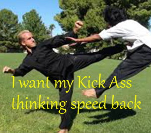 Jake Mace's Kung Fu video is an inspiration to getting free of an attacker and getting my thinking speed back