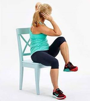 Exercises you can do Sitting