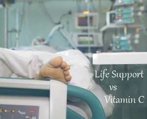 Life Support vs Vitamin C natural antibiotic