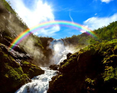 Waterfalls have more abundant negative ions